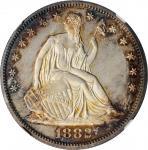 1882 Liberty Seated Half Dollar. Proof-67 Cameo (NGC).