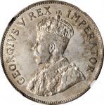 SOUTH AFRICA. 2-1/2 Shillings, 1924. London Mint. NGC AU-53.