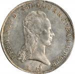 ITALY. Tuscany. Francescone (10 Paoli), 1794. Florence Mint. Ferdinando III. PCGS MS-63+ Gold Shield