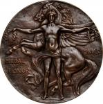 Undated Massachusetts Normal Arts School Medal Of Honor. Bronze. 61.0 mm. By Cyrus E. Dallin and Ray