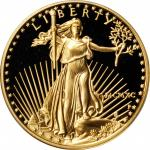 1990-P Half-Ounce Gold Eagle. Proof-69 Deep Cameo (PCGS).