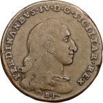 Monete e Medaglie di Zecche Italiane, Napoli.  Monetazione per i Reali Presidi della Toscana. 4 quat