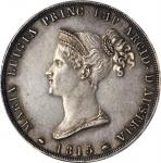 ITALY. Parma. 5 Lire, 1815. PCGS MS-62 Secure Holder.