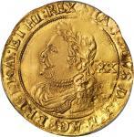 英国。詹姆士一世(1603年至1625年)劳雷尔金币。