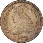 1822 Capped Bust Dime. John Reich-1. Rarity-3+. Mint State-66 (PCGS).