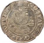 SWEDEN. Mark, 1540. Vasteras Mint. Gustav Vasa (1521-60). NGC Unc Details--Scratches.
