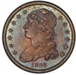1838 Capped Bust Quarter. Browning-1. Rarity-8 as a Proof. Proof-66 (PCGS).PCGS Population: 2, none