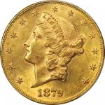 1879 Liberty Head Double Eagle. MS-61 (PCGS).