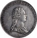 AUSTRIA. Lobkowitz-Sternstein. Taler, 1794 VI. Vienna Mint. Franz Josef Maximilian. PCGS AU-50 Gold