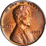 1955 Lincoln Cent. FS-101. Doubled Die Obverse. EF Details--Cleaned (PCGS).