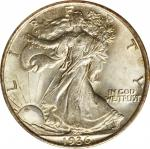 1936 Walking Liberty Half Dollar. MS-67 (NGC). CAC. OH.