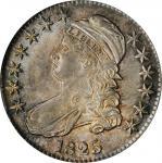 1825 Capped Bust Half Dollar. O-102. Rarity-1. MS-64 (PCGS).