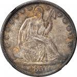 1850-O Liberty Seated Half Dollar. WB-Unlisted. MS-65 (NGC).