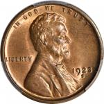 1923-S Lincoln Cent. MS-66 RB (PCGS). CAC.