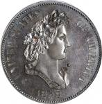 1859 Pattern Half Dollar. Judd-238, Pollock-294. Rarity-5. Copper. Reeded Edge. Proof-64 BN (PCGS).