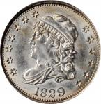 1829 Capped Bust Half Dime. LM-7.1. Rarity-4. MS-62 (NGC).