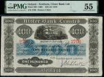 Ulster Bank Limited, Northern Ireland, 」100, Belfast, 1 January 1943, serial number 2706, (Pick 320,