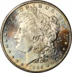 1884-CC Morgan Silver Dollar. MS-66+ (PCGS). CAC.