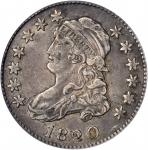 1820 Capped Bust Quarter. B-1. Rarity-5-. Large 0. EF-40 (PCGS).