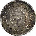 1783年约翰-查默斯先令 PCGS AU 55