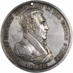 1829 Andrew Jackson Indian Peace Medal. First Size. Silver. 75.4 mm, 3.7-3.9 mm thick. 150.8 grams.