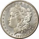 1893-CC Morgan Silver Dollar. MS-64 (PCGS).