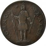 1788 Massachusetts Cent. Ryder 9-M, W-6270. Rarity-6. VF-20 (PCGS).