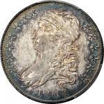 1808/7 Capped Bust Half Dollar. O-101. Rarity-1. AU-55 (PCGS). CAC.