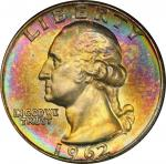 1962-D Washington Quarter. MS-66+ (PCGS).