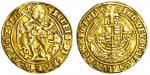 Henry VII (1485-1509), Angel, class V, 5.03g, mm. pheon and cross crosslet, henric di?gra?rex agl?z