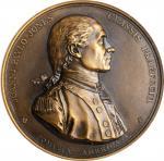 1779 (1880-1898) Captain John Paul Jones / Bonhomme Richard vs. Serapis Naval Medal. Paris Mint Rest