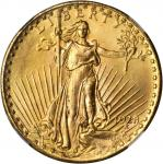 1928 Saint-Gaudens Double Eagle. MS-64+ (NGC).