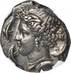 SICILY. Siculo-Punic. AR Tetradrachm (17.12 gms), ca. 320-300 B.C.