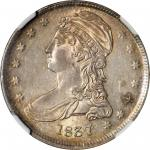 1837 Capped Bust Half Dollar. Reeded Edge. 50 CENTS. GR-24. Rarity-2. MS-64 (NGC).
