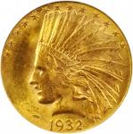 1932 Indian Eagle. MS-62 (PCGS).