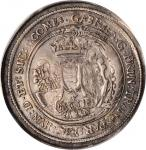 TRANSYLVANIA. Uniface Siege Taler, 1611 CIBIN. Gabriel Bathory. PCGS Genuine--Edge Repaired, EF Deta