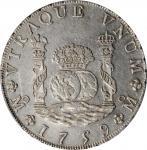 1759-Mo MM年墨西哥壹圆银币。墨西哥城造币厂,费迪南德六世。MEXICO. 8 Reales, 1759-Mo MM. Mexico City Mint. Ferdinand VI. PCGS