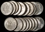 Lot of (118) 1881-O Morgan Silver Dollars. About Uncirculated.<p>