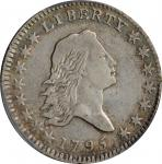 1795 Flowing Hair Half Dollar. O-107, T-31. Rarity-5. Two Leaves. VF-30 (PCGS).