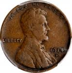 1914-D Lincoln Cent. VF-20 (PCGS).