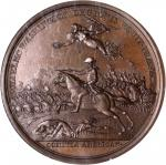 1781 Lieutenant Colonel William Washington at Cowpens Medal. Copper. 46mm. Betts-594, Adams and Bent