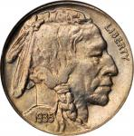 1935 Buffalo Nickel. PDS Set. MS-65.