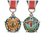 十二年大总统曹锟就任纪念章 近未流通