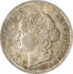 SWITZERLAND. 5 Francs, 1908-B. Bern Mint. PCGS MS-64.