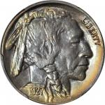 1927-S Buffalo Nickel. MS-65 (PCGS).