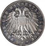 GERMANY. Lubeck. 5 Mark, 1904-A. Berlin Mint. PCGS PROOF-64 Gold Shield.