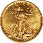 1922 Saint-Gaudens Double Eagle. MS-62 (PCGS).