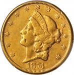 1874-CC Liberty Head Double Eagle. EF Details--Damage (PCGS).