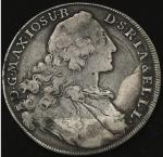 GERMANY Bavaria バイエ儿ン Taler 1763 返品不可 要下见 Sold as is No returns  F