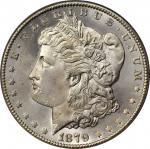 1879-CC Morgan Silver Dollar. Clear CC. MS-65 (PCGS).